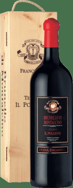 Vigna Paganelli Brunello di Montalcino Riserva  DOCG 3l Jeroboam in OHK 2012 - Tenuta il Poggione