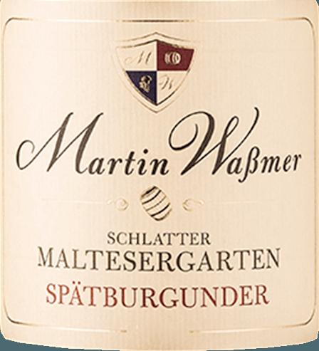 Der Schlatter Maltesergarten Spätburgunder von Martin Waßmer kommt mit strahlendem Rubinrot und bronzenen Glanzlichtern ins Glas. Aus dem Glas steigen uns Aromen von reifen Kirschen und weiterem tiefrotem Beerenobst in die Nase. Pfeffer, Schokolade und ein Duft von warmen Maronen steigern die Spannung vor dem ersten Schluck. Am Gaumen offenbart sich der Schlatter Maltesergarten Spätburgunder von Martin Waßmer cremig mit einer eleganten Holzaromatik und würzigen Noten von Nelken und vollmundigen Sauerkirschen. Ein Burgunder, der sein Glas, ein großes Burgunder-Glas, braucht, um wirklich alle Facetten zeigen zu können. Ein feinfruchtiger Nachhall belohnt jeden, der ihn genießt. Vinifikation des Schlatter Maltesergarten Spätburgunder von Waßmer Martin Waßmer kann im Schlatter Maltesergarten auf besten Böden mit fast schon burgundischer Stilistik zurückgreifen. Kalkstein mit aufliegenden Böden aus Lehm und Mergel machen die Lage zu einem Filetstück in Baden und geben Waßmer perfekt ausgereifte Trauben. Nach der Lese erfolgt die Maischegärung und schließlich die Reifung im Holzfass. Speiseempfehlung zum Martin Waßmer Spätburgunder aus dem Schlatter Maltesergarten Genießen Sie diesen ausdrucksstarken Spätburgunder aus Baden zu klassischen Schweinefleischgerichten oder auch zu Haxe.