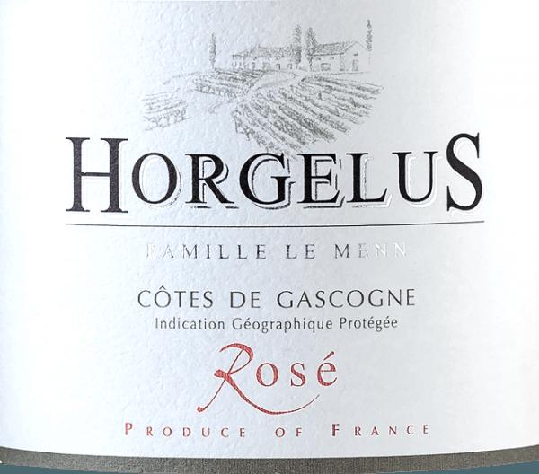 Horgelus Rosé Côtes de Gascogne IGP 2019 - Domaine Horgelus von Domaine Horgelus
