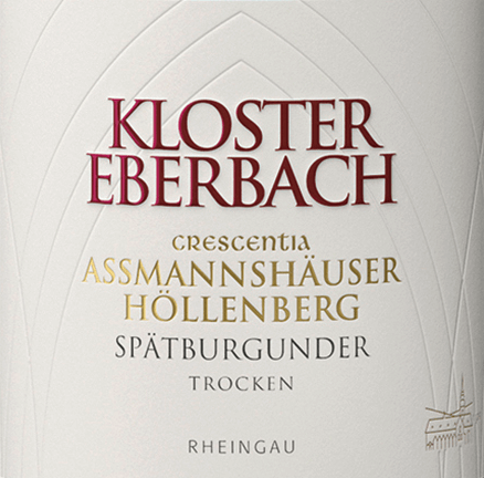 Assmannshäuser Höllenberg Spätburgunder Crescentia 2017 - Kloster Eberbach von Weingut Kloster Eberbach