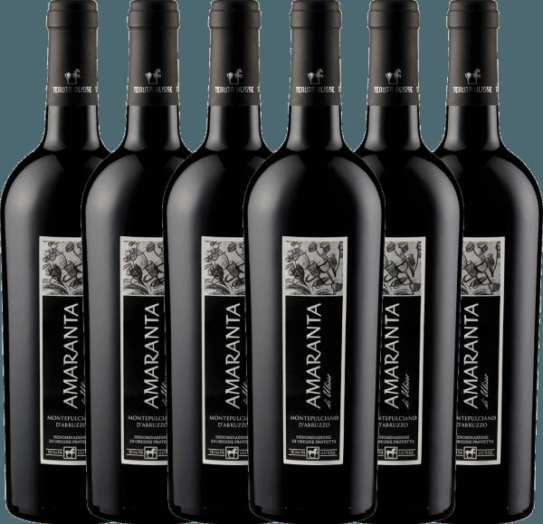 6er Vorteils-Weinpaket - AMARANTA Montepulciano d'Abruzzo DOC 2017 - Tenuta Ulisse