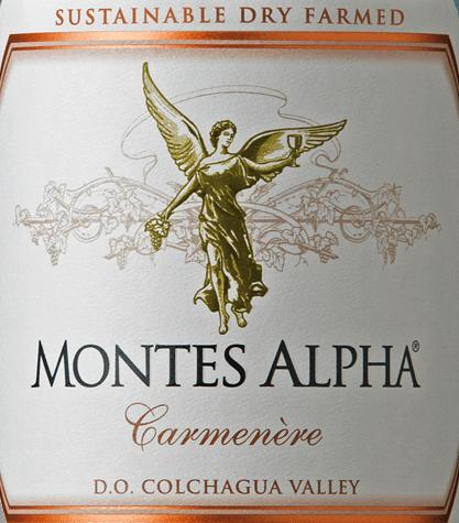 Montes Alpha Carmenère 2018 - Montes von Montes Chile