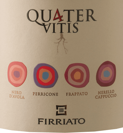 Quater Vitis Rosso Terre Siciliane IGT 2014 - Firriato von Firriato