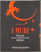 I Muri Rosso Puglia 3,0 l Bag in Box Weinschlauch - Vigneti del Salento