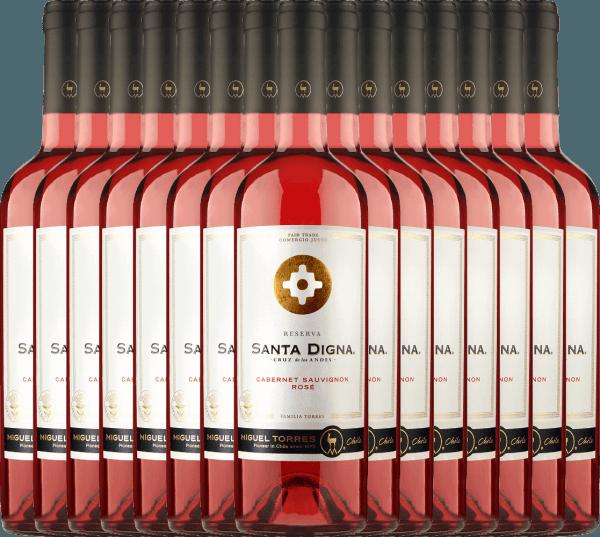 15er Vorteils-Weinpaket Santa Digna Rosé 2020 - Miguel Torres Chile