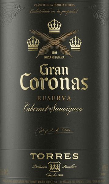 Gran Coronas Cabernet Sauvignon Reserva DO 2016 - Miguel Torres von Miguel Torres