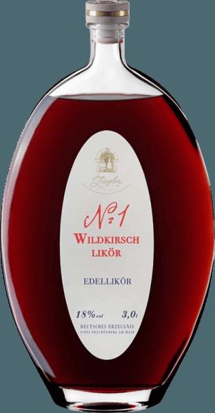 Nr. 1 Wildkirschlikör XXL 3,0 l - Brennerei Ziegler