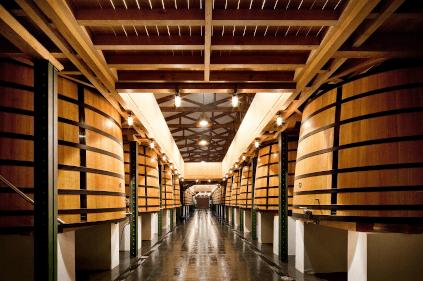 Im Weinkeller von Chateau Mouton Rothschild