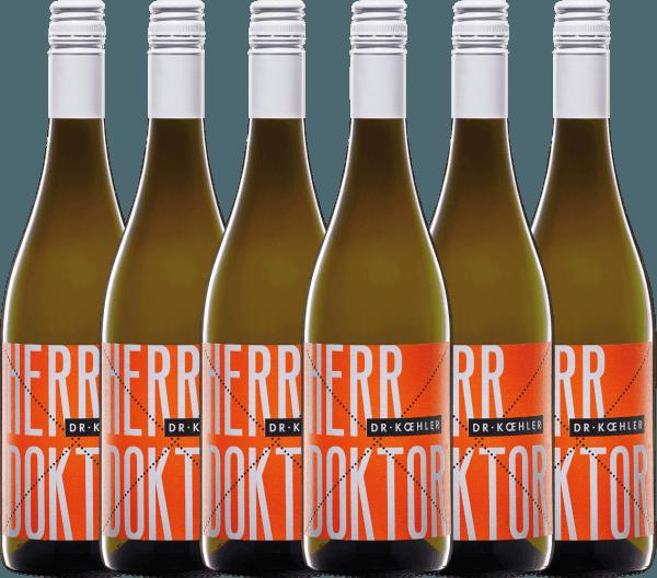 6er Vorteils-Weinpaket - Herr Doktor 2020 - Dr. Koehler