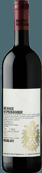 Dieser reinsortige Merlot zeigt sich von einem tiefen Rot mit granatroten Schattierungen im Glas.Der charakteristische feine Duft nach Kirschen und Beeren wird durchsetzt von feinen Vanilletönen. Der Geschmack des Merlot DOC Collio aus dem hause Russiz Superiore ist saftig und fruchtig mit einem langen, langen Finale. Der junge Rotwein wird 12 Monate in kleinen Holzfässern ausgebaut und reift weitere 6 Monate auf der Flasche. Food Pairing / Speiseempfehlung für denMerlot DOC Collio von Russiz SuperioreReichen Sie diesen italienischen Rotwein zu Pizza und Pasta sowie zu würzigen Huhn- und Putengerichten oder genießen Sie ihn einfach so auf der Terrasse oder dem Balkon. Auszeichnungen für denMerlot DOC Collio von Russiz SuperioreParker Punkte - Wine Advocate: 89 Punkte (Jg. 08)