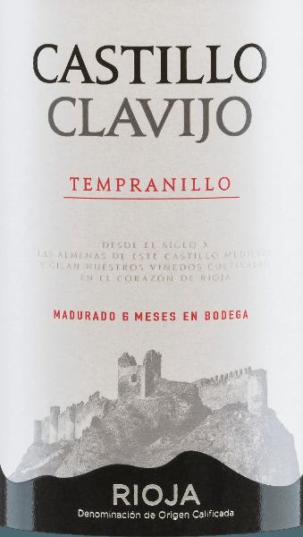 Castillo de Clavijo Tempranillo DOC - Criadores de Rioja von Criadores de Rioja