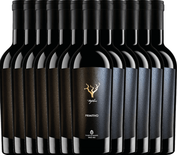 12er Vorteils-Weinpaket - Trefilari Primitivo 2019 - Cantina Sampietrana
