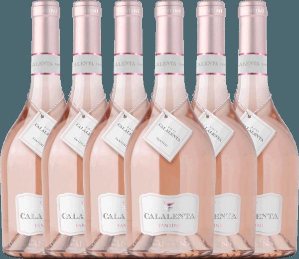 6er Vorteils-Weinpaket - Fantini Calalenta Merlot Rosato 2020 - Farnese