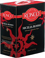 Sicilia Rosso 3,0 l Bag in Box Weinschlauch - Ronco