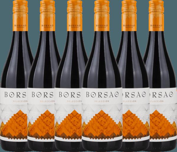 6er Vorteils-Weinpaket - Borsao Selección Joven 2019 - Bodegas Borsao