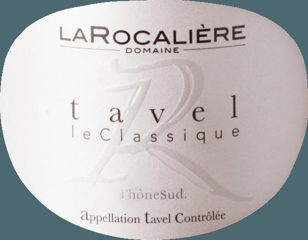 Tavel AOC 2019 - Domaine La Rocaliére von Domaine La Rocaliere
