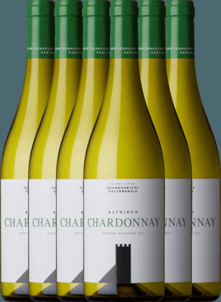 6er Vorteilspaket - Chardonnay Altkirch 2020 - Kellerei Schreckbichl