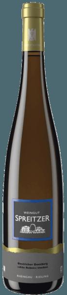 Der Oestrich Doosberg Riesling Alte Reben Qualitätswein trocken von Spreitzer offenbart in der Nase eine sehr klare Gelbfruchtigkeit, es sind Aprikosen- und Pfirsicharomen mit kräuteriger Mineralität spürbar.Im Mund ist er klar, kühl und feinsaftig. Sein Körper ist dicht und fest und zeigt geschmacklich viel saftige Steinobstfrucht mit kompakter Mineralität. Ein belebend frischer Riesling aus dem Rheingau mit etwas Schmelz. Insgesamt ist er sehr rund und ausgewogen und mit einer spürbaren Stoffigkeit versehen. Ein am Gaumen komplexer Weißwein, dessen Abgang mit einer kompakten Saftigkeit überzogen ist und der lange nachhallt.