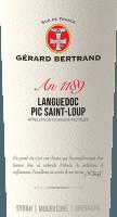 Vorschau: Heritage 1189 Pic Saint Loup 2018 - Gérard Bertrand