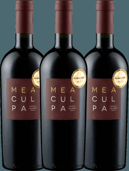 3er Vorteils-Weinpaket - MEA CULPA Vino Rosso Italia - Cantine Minini