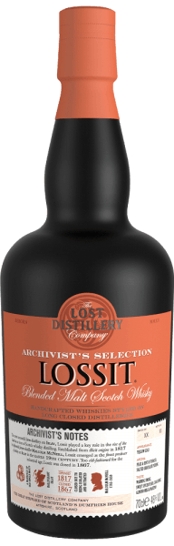 Lossit Archivist's Selection Blended Malt Scotch Whisky GP - Lost Distillery