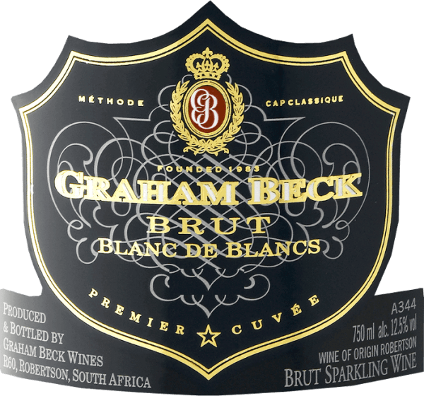 Cap Classique Blanc de Blancs Brut 2016 - Graham Beck von Graham Beck Wines