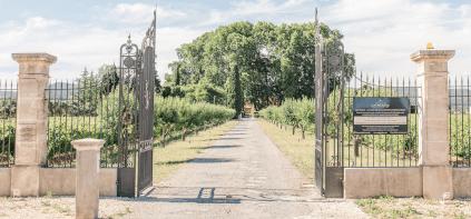Auffahrt zum Château