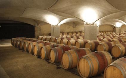 Der modernisierte Keller von Mercuès