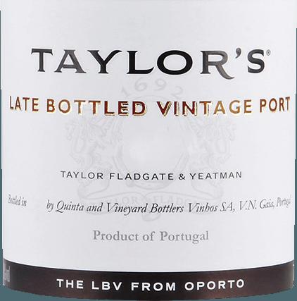 Late Bottled Vintage 2015 - Taylor's Port von Taylor's Port